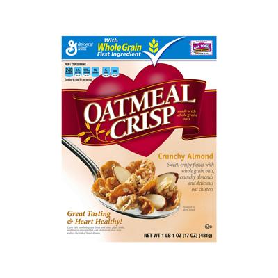 ... General Mills / General Mills: Cereals / Oatmeal Crisp Almond 12/17oz